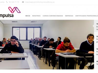 Nueva web de nuestro centro de formación en Valencia